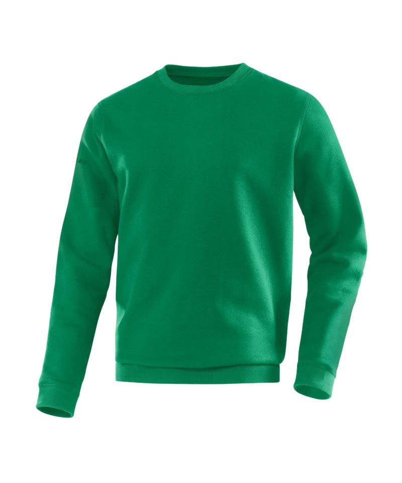 Jako Sweatshirt Team Sweat Kinder Grün F06 - gruen
