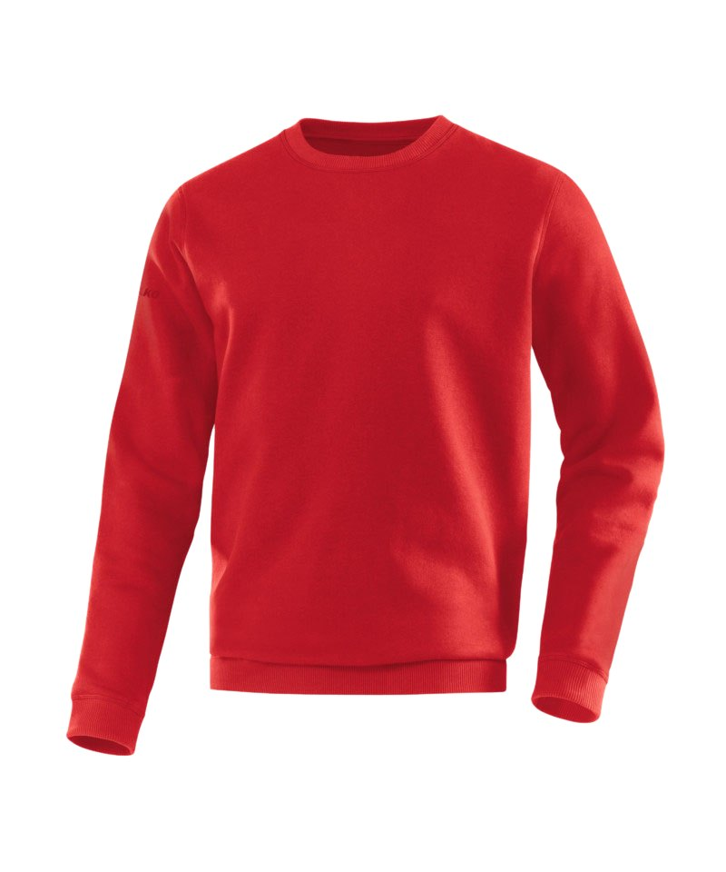 Jako Sweatshirt Team Sweat Kinder Rot F01 - rot
