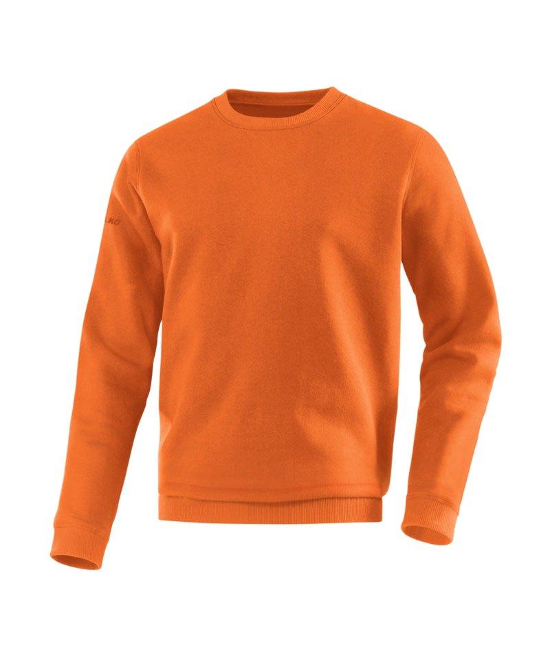Jako Sweatshirt Team Sweat Orange F19 - orange