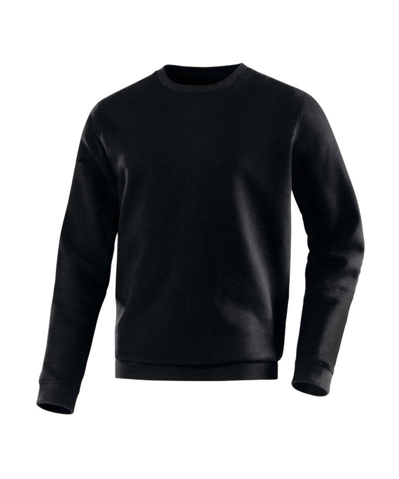 Jako Sweatshirt Team Sweat Schwarz F08 - schwarz