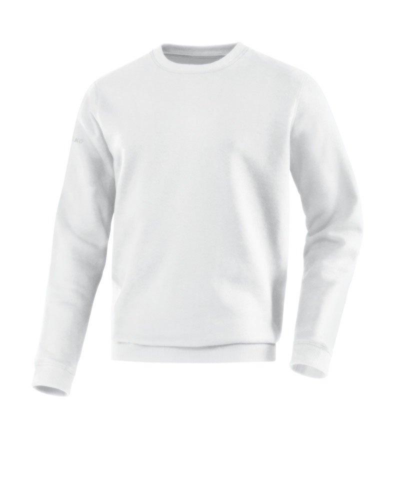 Jako Sweatshirt Team Sweat Weiss F00 - weiss