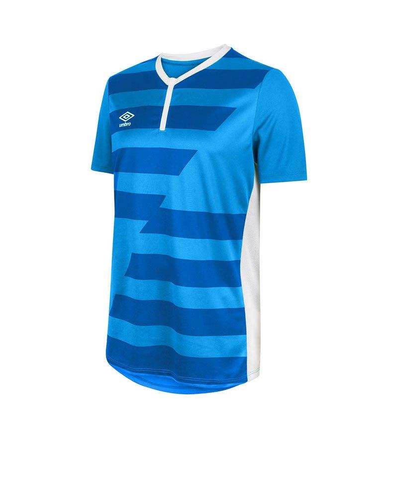 Umbro Vision Jersey Trikot kurzarm Blau FEH2 - blau