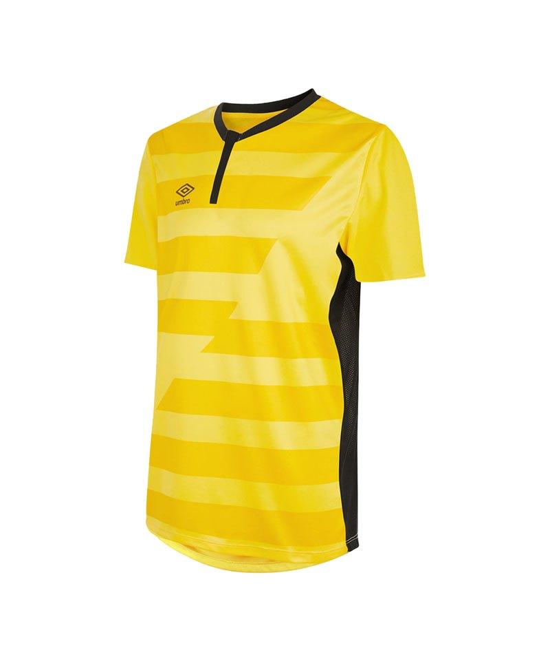 Umbro Vision Jersey Trikot kurzarm Gelb F0LH - gelb