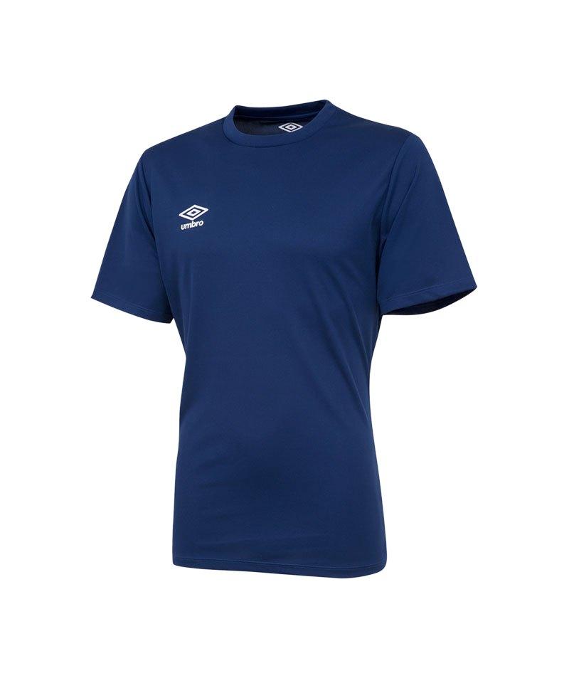 Umbro Club Jersey Trikot kurzarm Dunkelblau FERA - blau