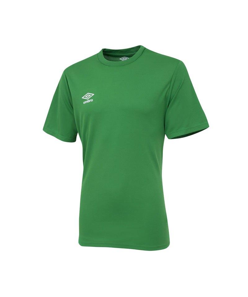 Umbro Club Jersey Trikot kurzarm Grün FEH3 - gruen