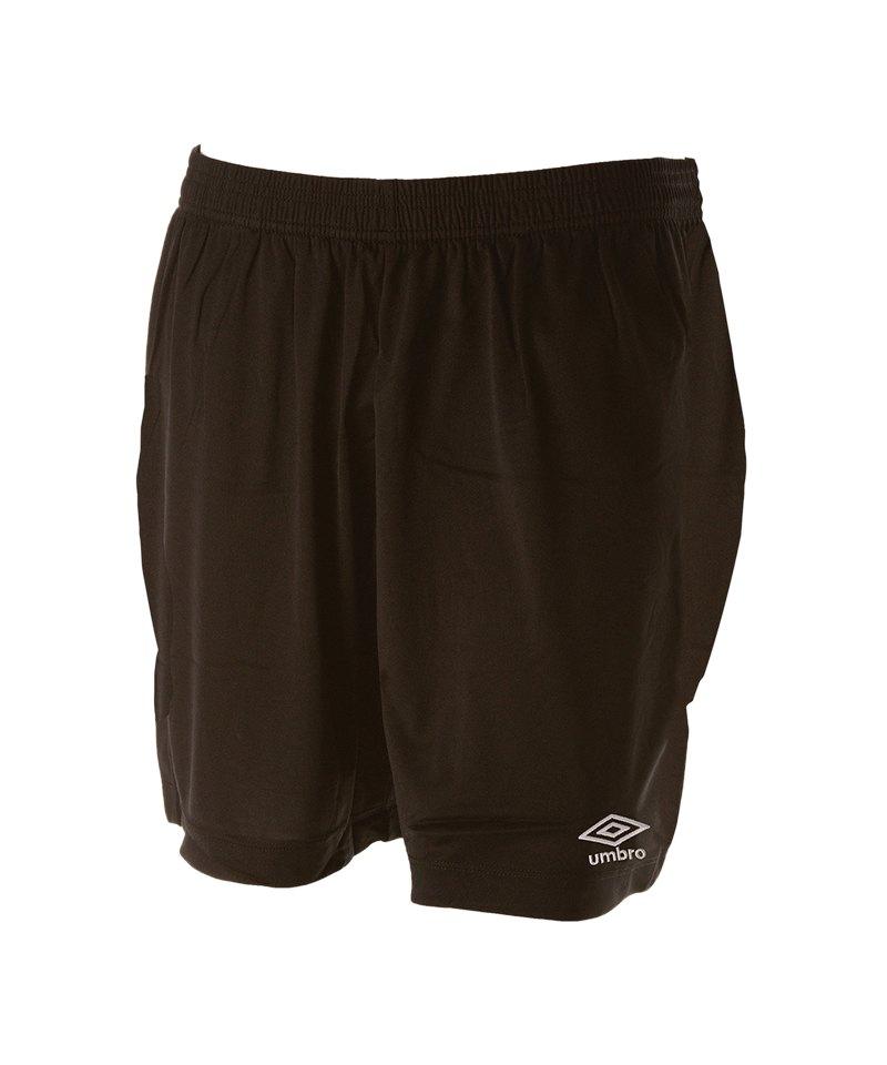 Umbro New Club Short Schwarz F005 - schwarz