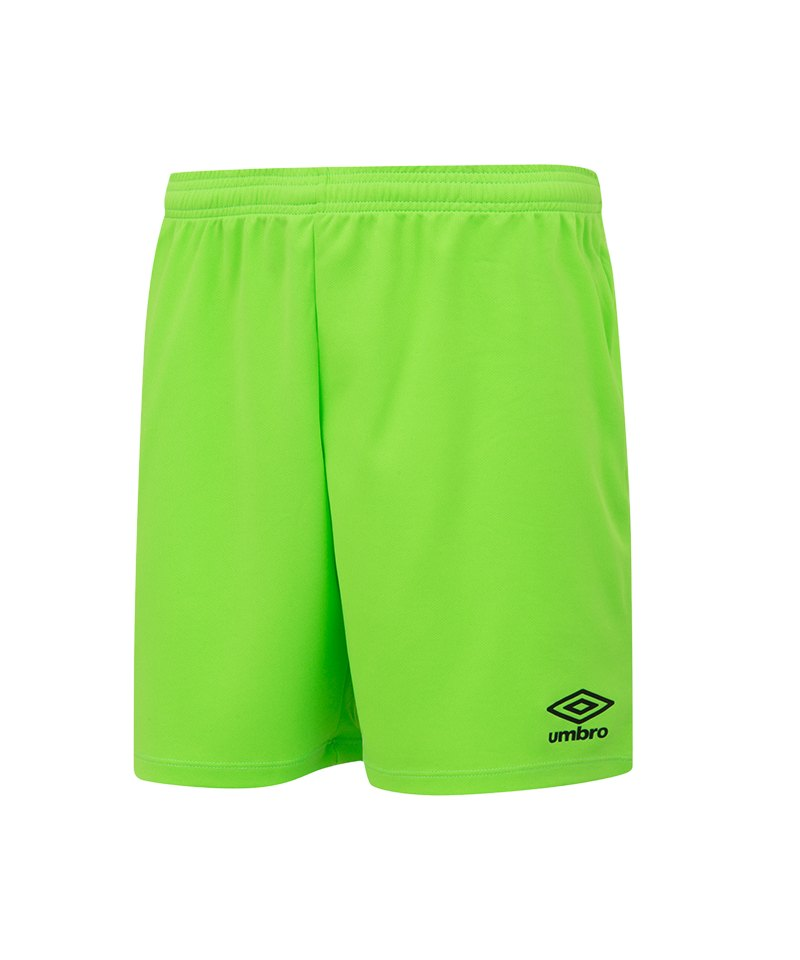 Umbro New Club Short Kids Hellgrün FDH6 - gruen