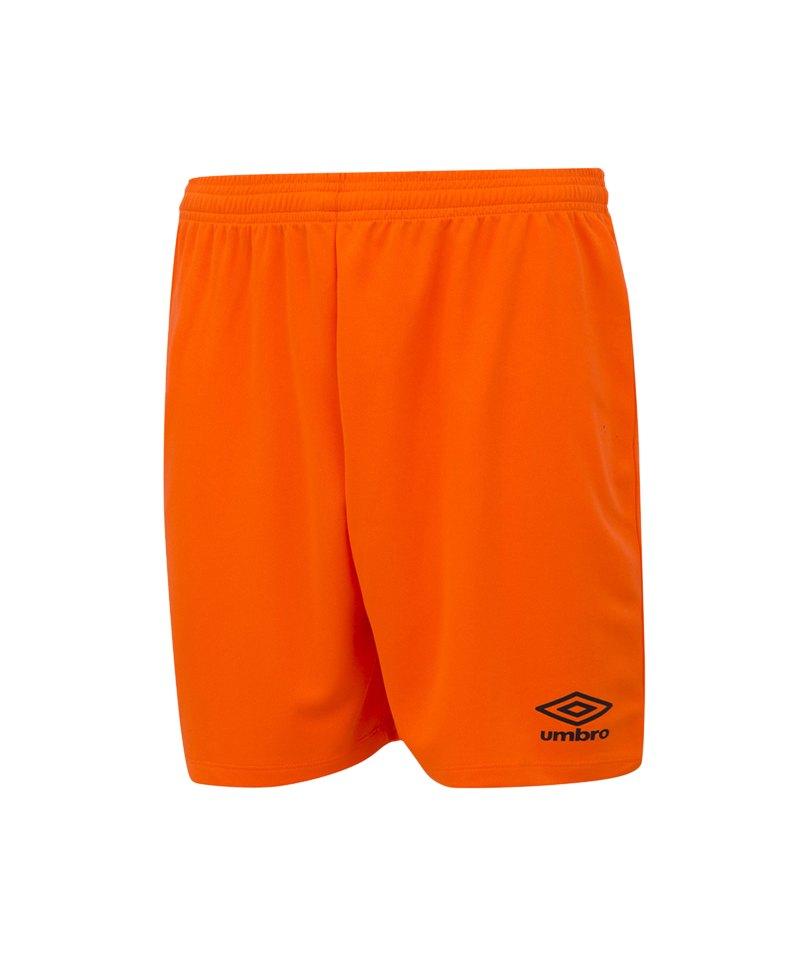 Umbro New Club Short Kids Orange F37I - orange