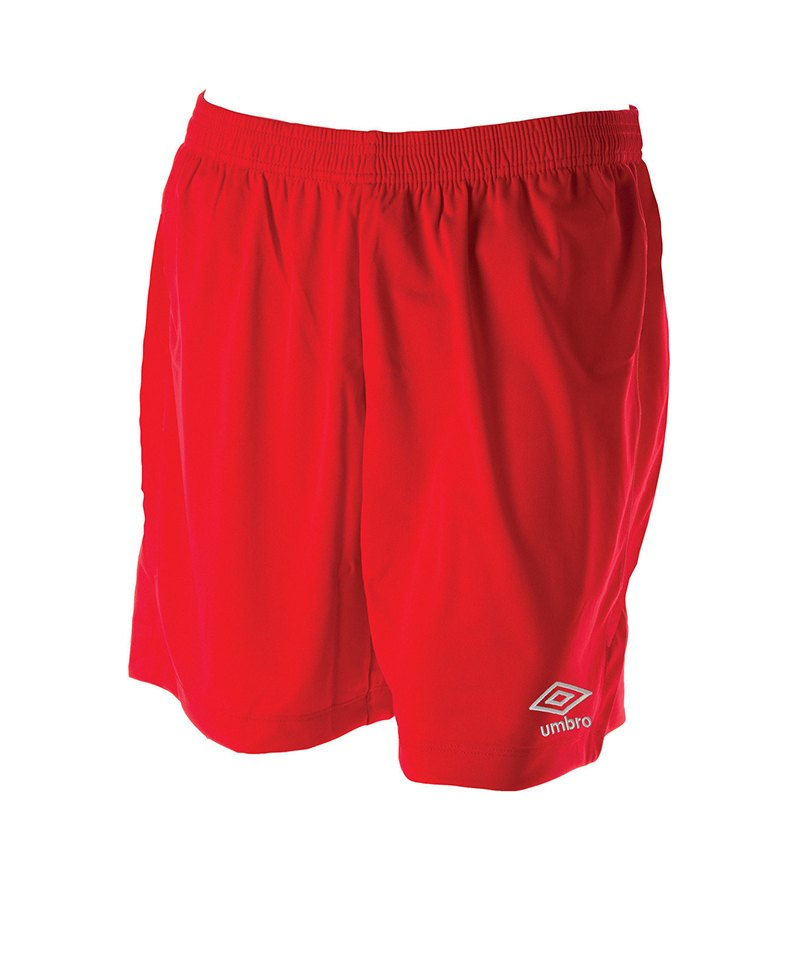 Umbro New Club Short Kids Rot F7RA - rot