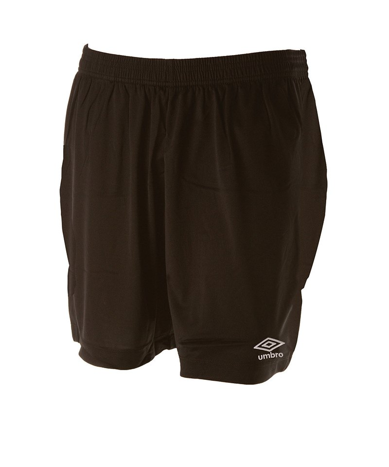 Umbro New Club Short Kids Schwarz F005 - schwarz