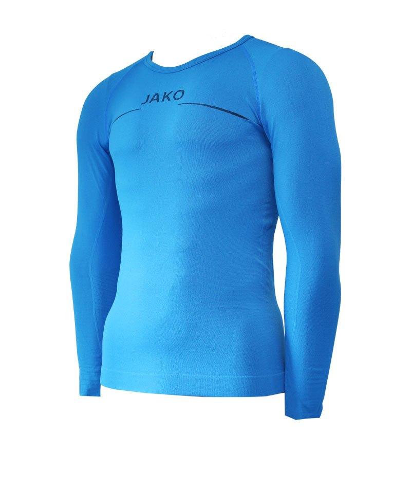 Jako Shirt Longsleeve Comfort Blau F89 - blau