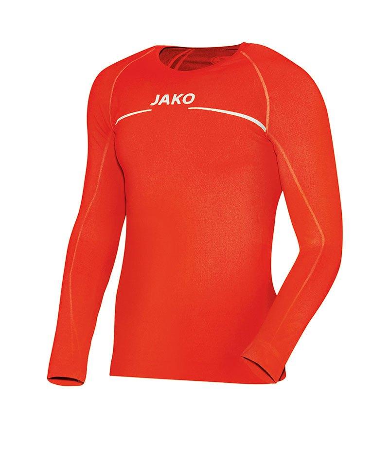 Jako Shirt Longsleeve Comfort Kinder Orange F18 - orange