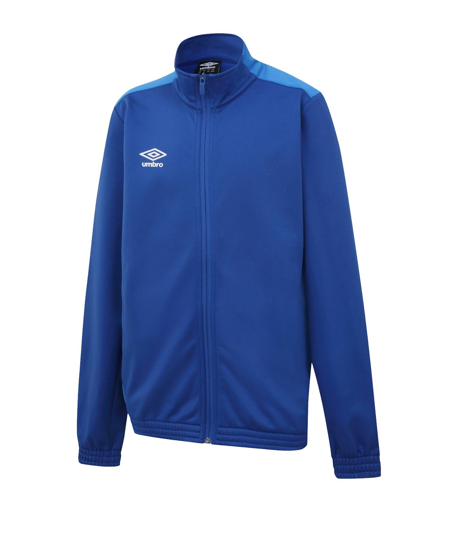 Umbro Training Knitted Jacket Jacke Kids Blau FEVC - blau