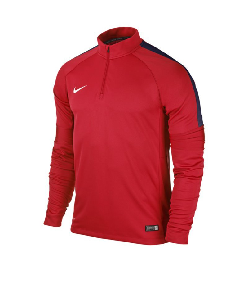 Nike Ignite Midlayer Sweatshirt Squad 15 F662 Rot - rot