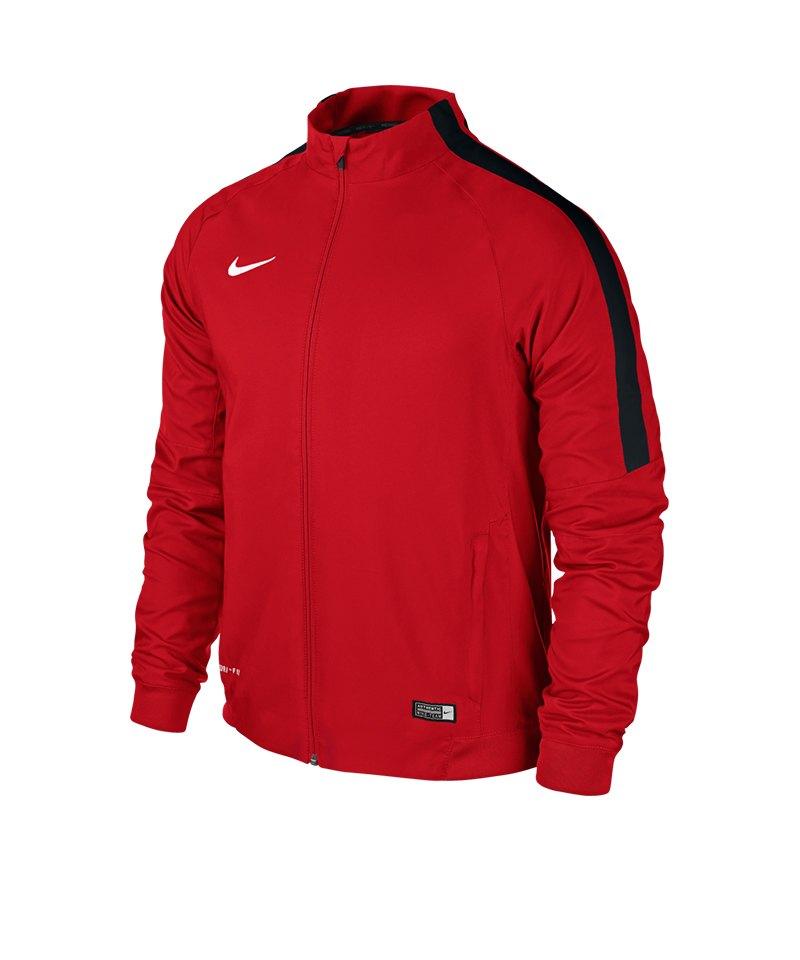 Nike Sideline Woven Jacke Squad 15 F657 Rot - rot