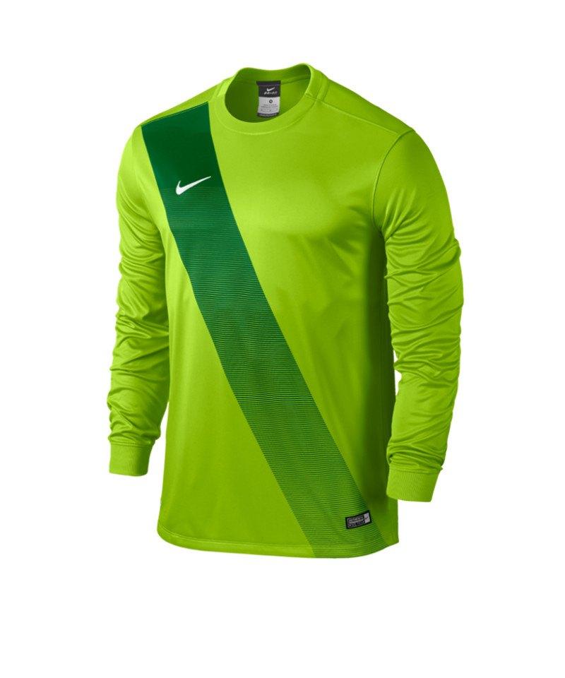 Nike Langarm Trikot Sash F313 Grün - gruen