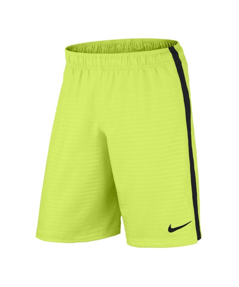 Nike Short NB Max Graphic F715 Gelb Schwarz - gelb