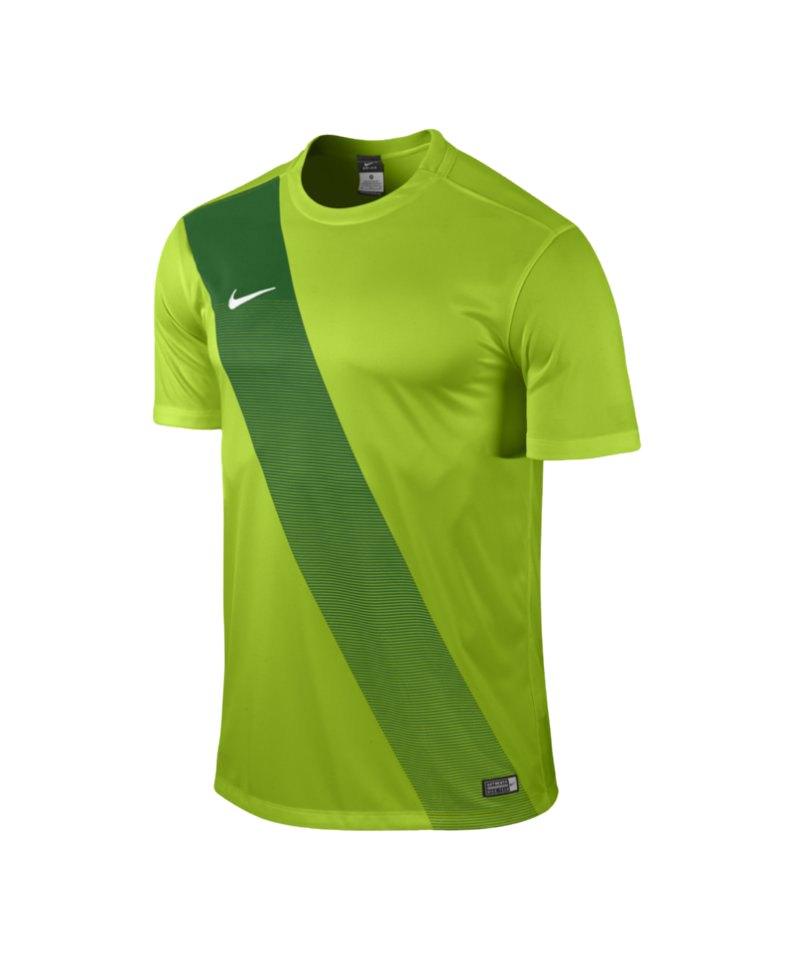 Nike Kurzarm Trikot Sash F313 Grün - gruen