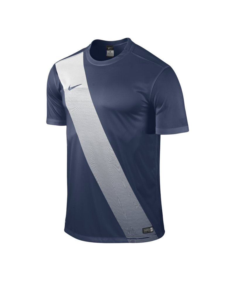 Nike Kurzarm Trikot Sash F410 Blau - blau