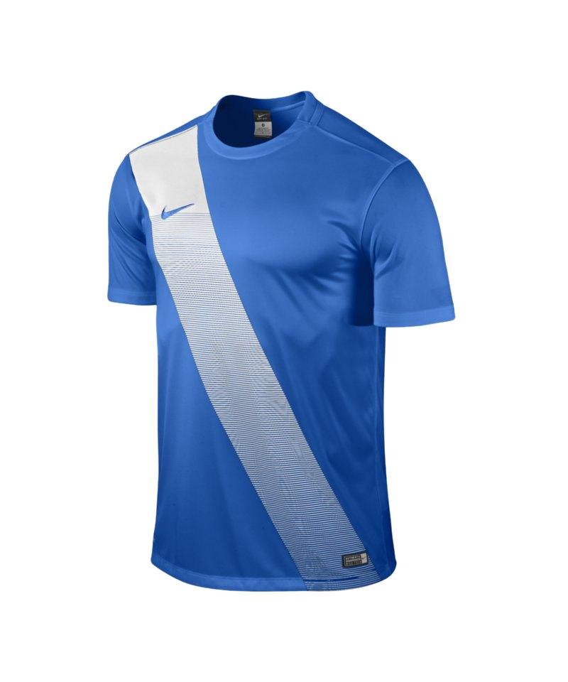 Nike Kurzarm Trikot Sash F463 Blau - blau