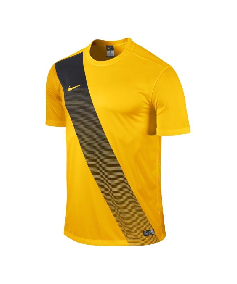 Nike Kurzarm Trikot Sash F739 Gold - gelb