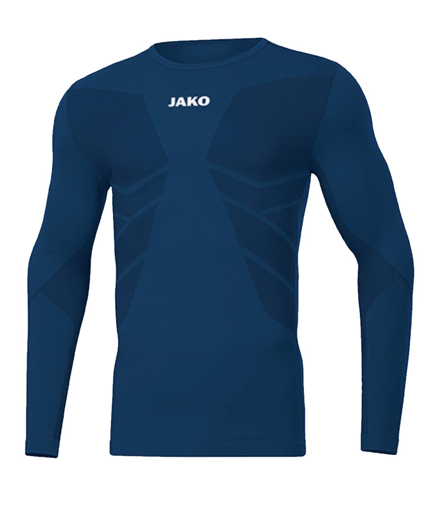 JAKO Comfort 2.0 langarm Kids Blau F09 - blau