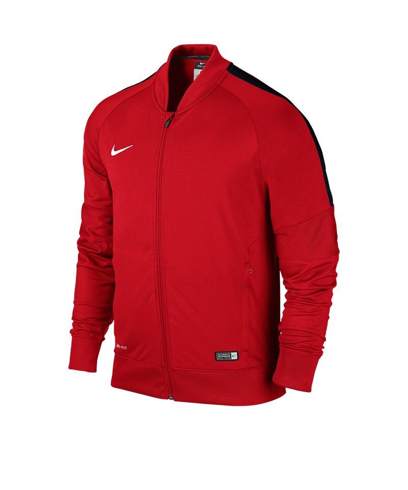 Nike Sideline Knit Jacke Squad 15 Kinder F657 - rot