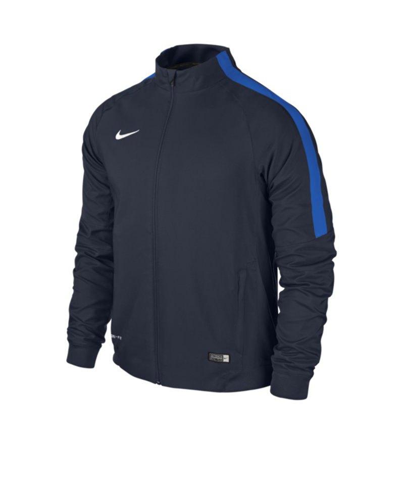 Nike Sideline Woven Jacket Squad 15 Kinder F451 - blau