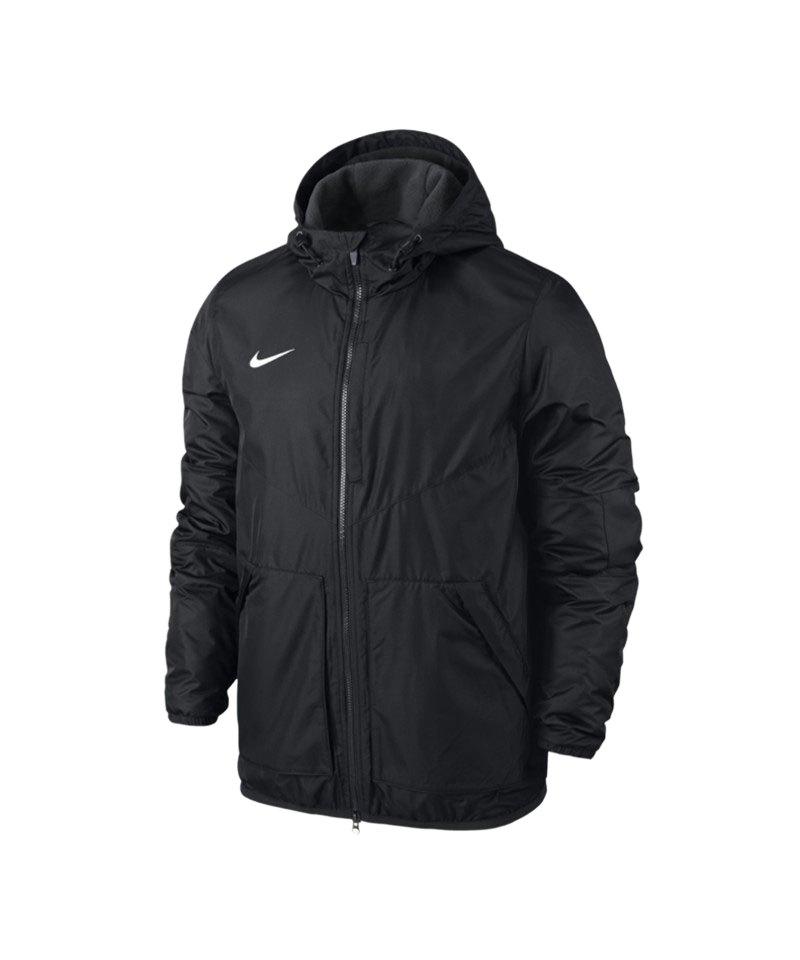 Nike Jacke Outerwear Team Fall Jacket Kinder F010 - schwarz