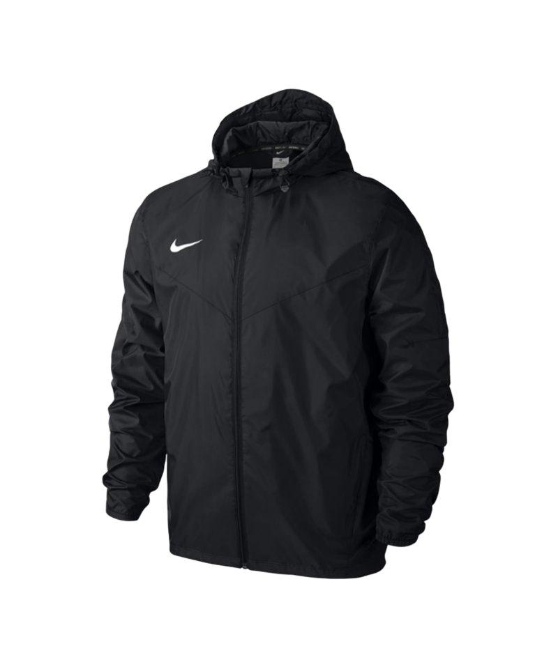 Nike Regenjacke Team Sideline Kinder Schwarz F010 - schwarz