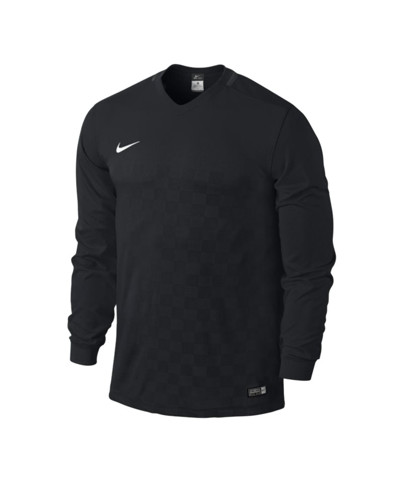 Nike Langarm Trikot Energy III Kinder F010 Schwarz - schwarz