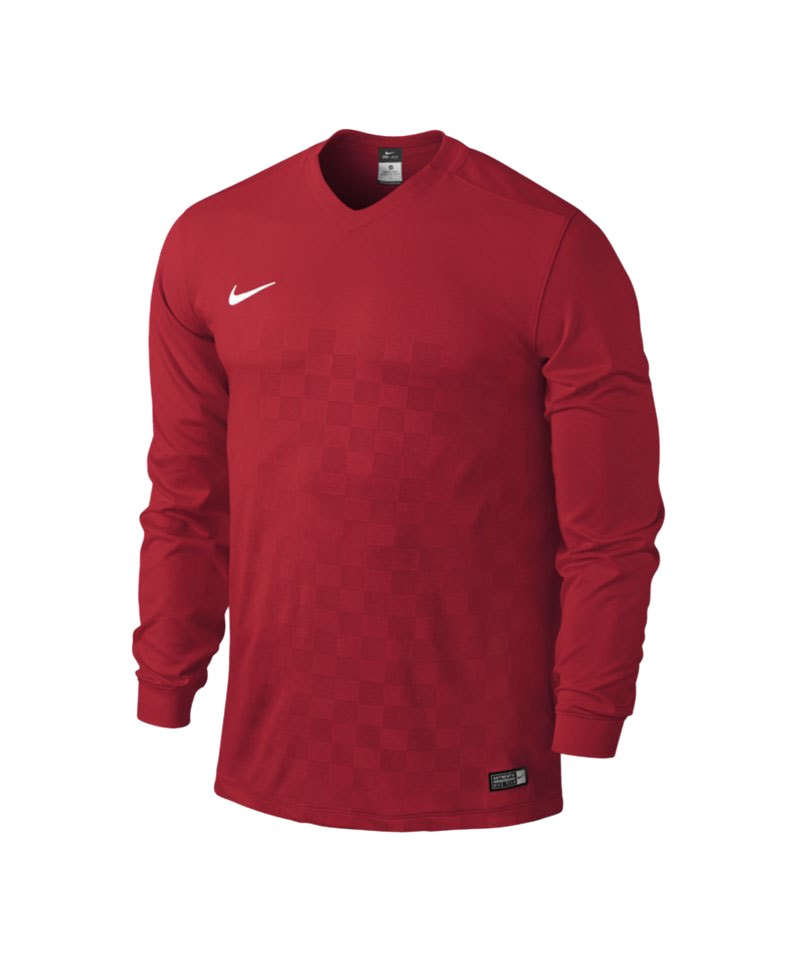 Nike Langarm Trikot Energy III Kinder F657 Rot - rot