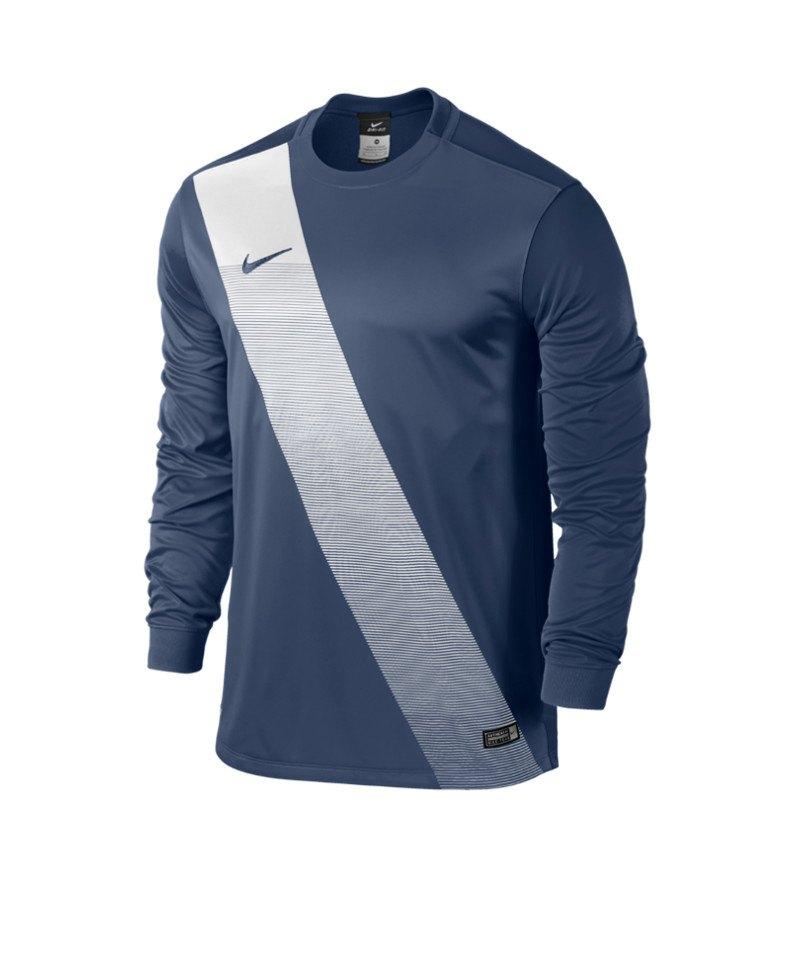 Nike Langarm Trikot Sash Kinder F410 Blau - blau