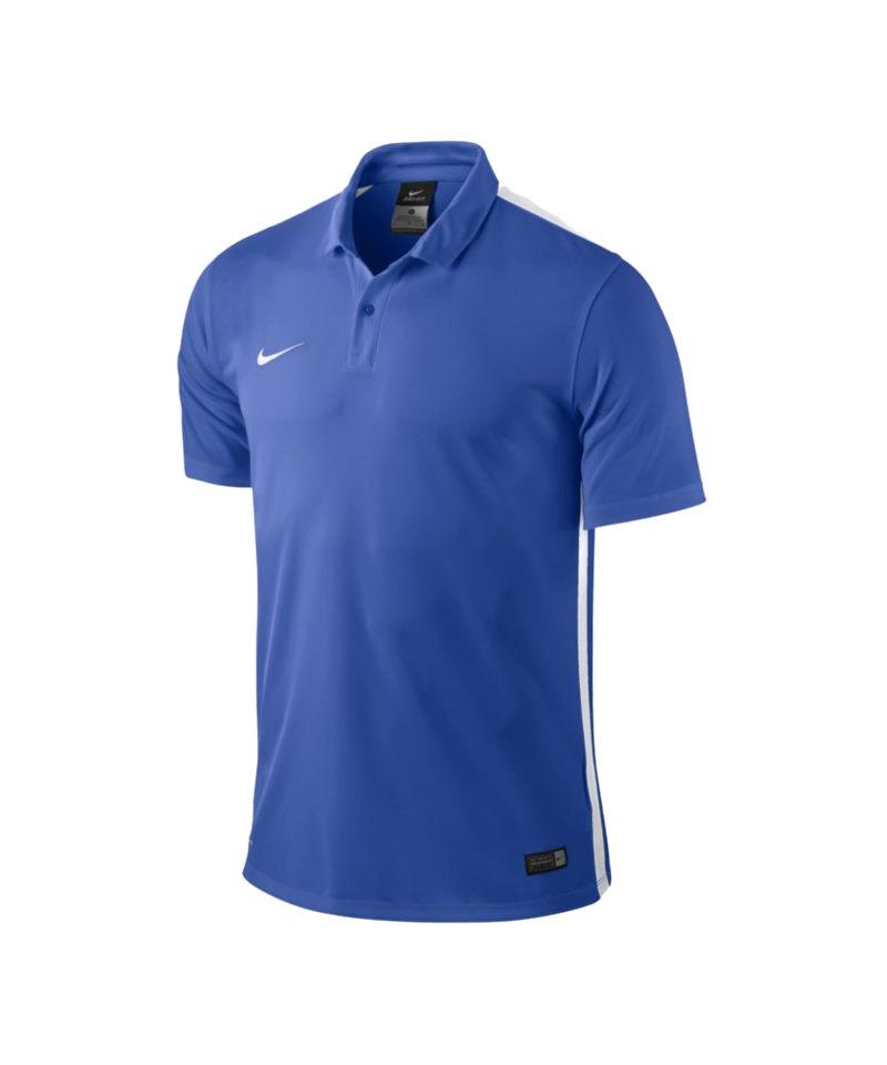 Nike Kurzarm Trikot Challenge Kinder F463 Blau - blau