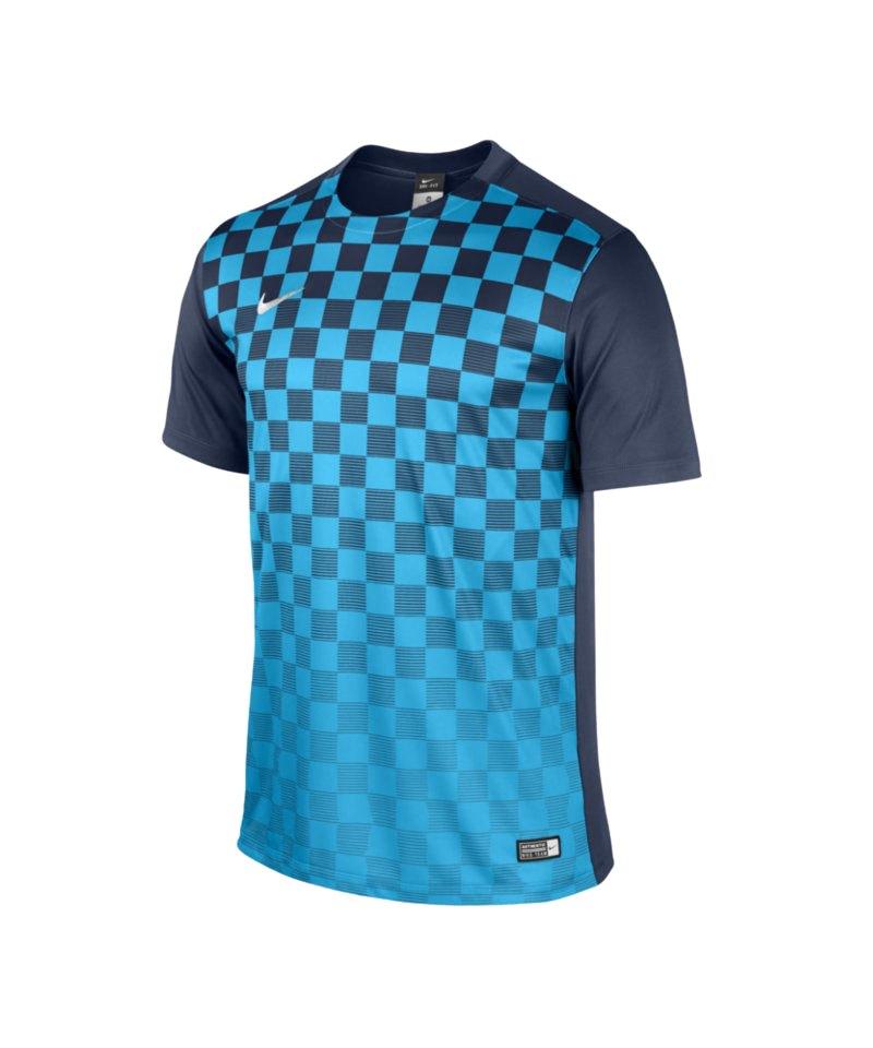 Nike Precision III Trikot kurzarm Kids Blau F410 - blau