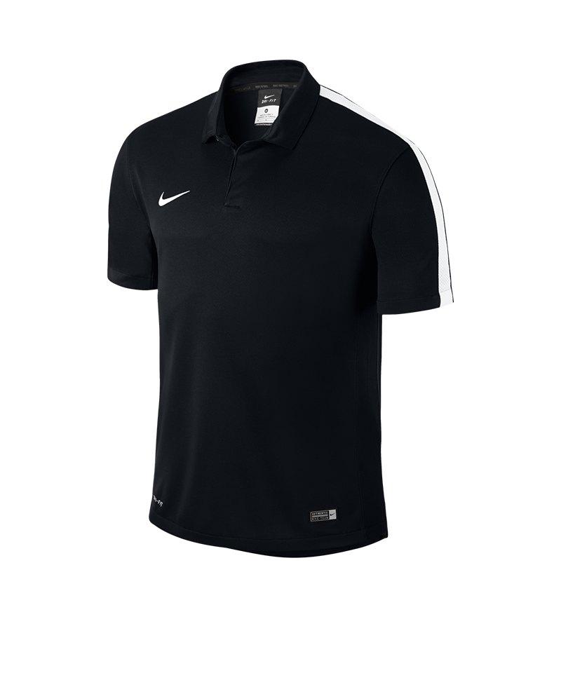 Nike Sideline Poloshirt Squad 15 Kinder F010 - schwarz