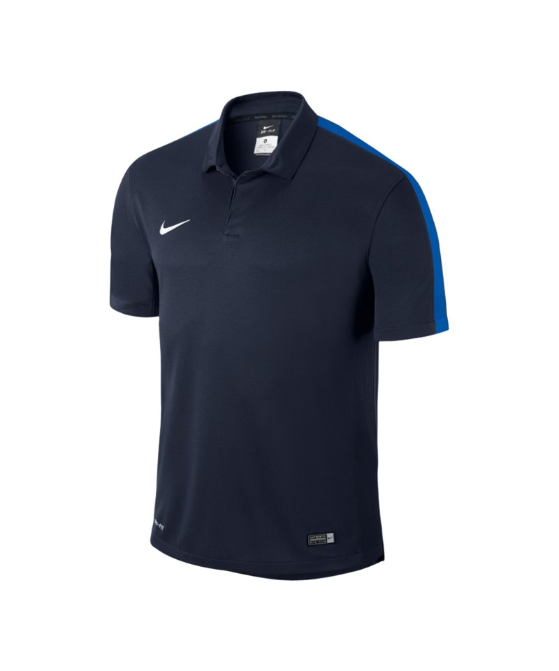 Nike Sideline Poloshirt Squad 15 Kinder F451 - blau