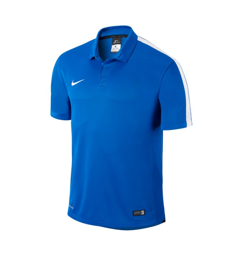 Nike Sideline Poloshirt Squad 15 Kinder F463 - blau