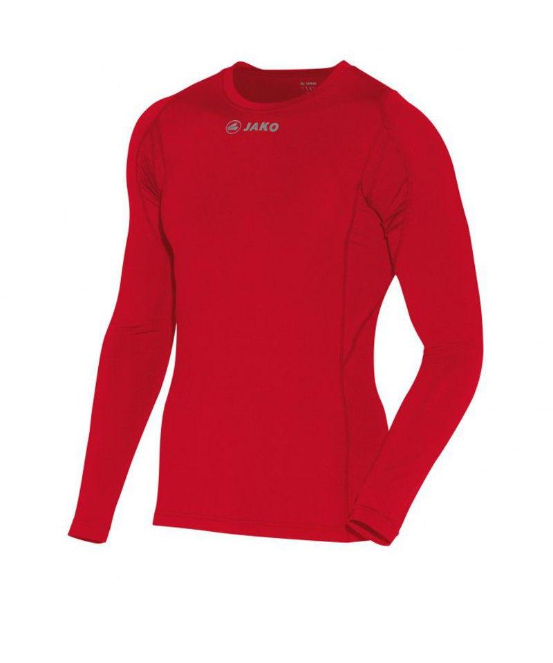 Jako Longsleeve Shirt Compression Rot F01 - rot