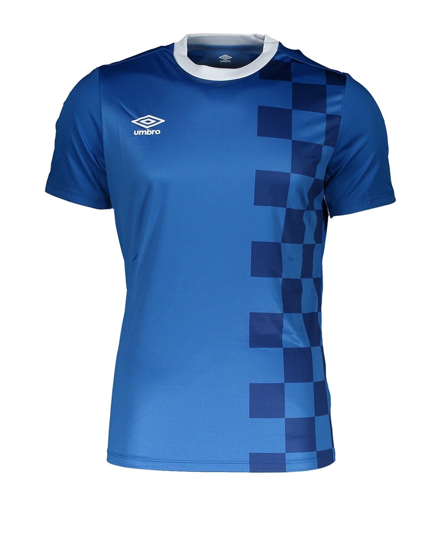 Umbro Stadion T-Shirt Blau FDX4 - Blau