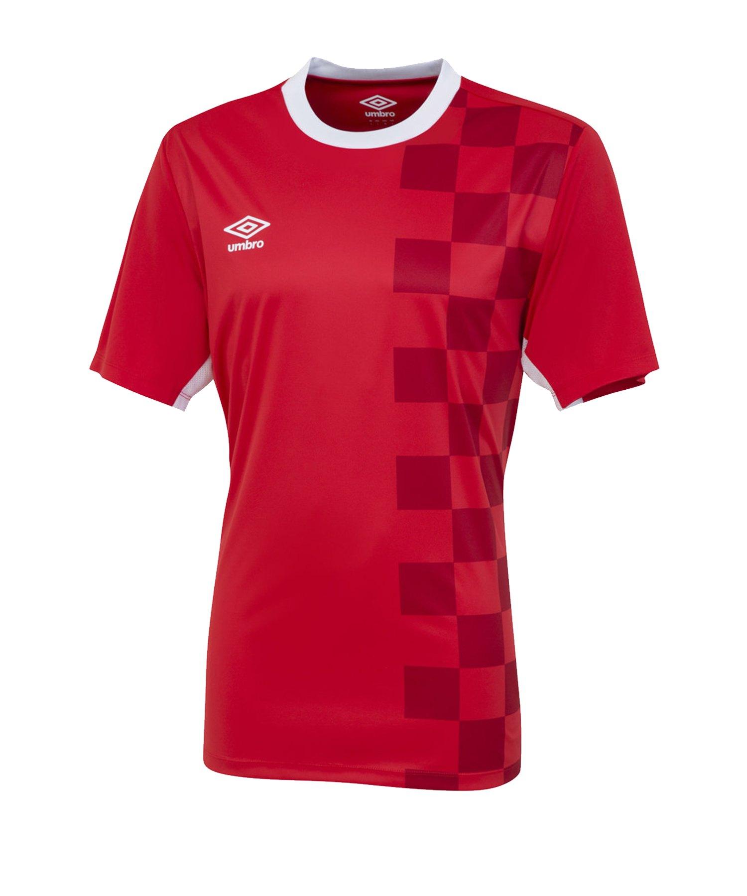 Umbro Stadion T-Shirt Rot FA54 - Rot