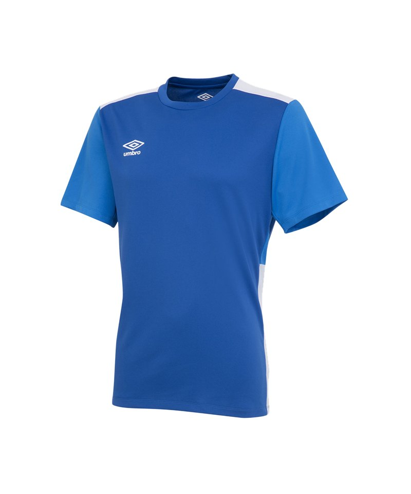 Umbro Training Poly Tee T-Shirt Blau FEVB - blau