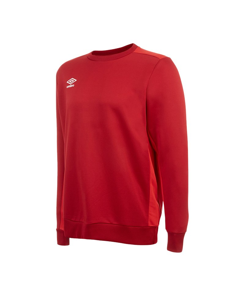 Umbro Training Poly Sweater Rot FCYV - rot