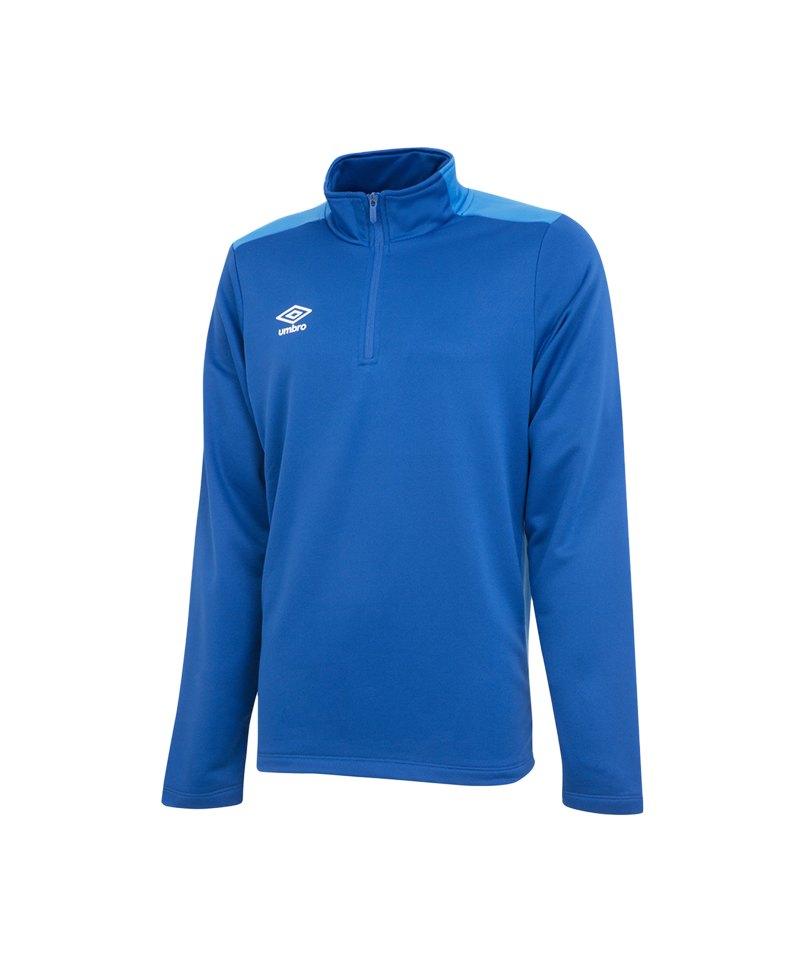 Umbro Training 1/2 Sweat Blau FEVC - blau