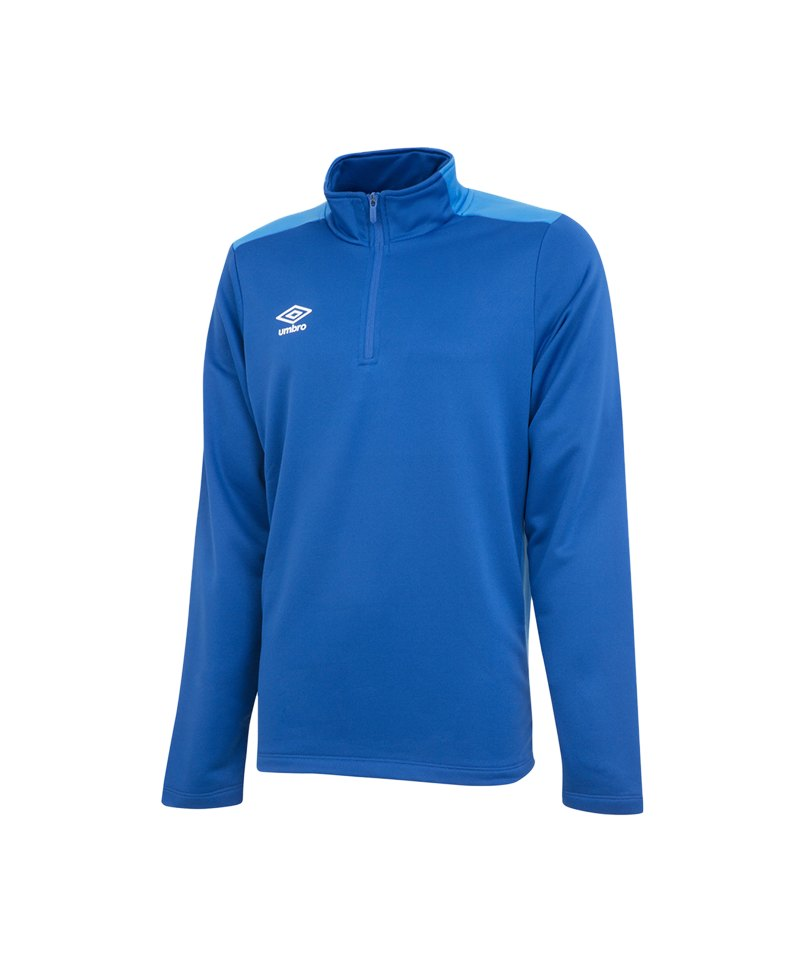 Umbro Training 1/2 Sweat Kids Blau FEVC - blau