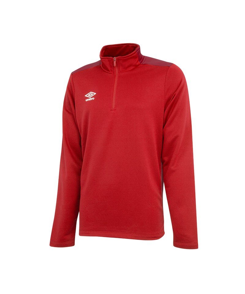Umbro Training 1/2 Sweat Kids Rot FDNC - rot