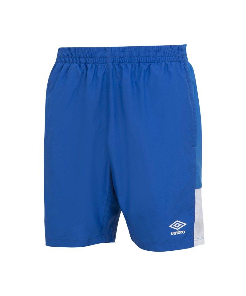 Umbro Training Short Hose kurz Blau Weiss FEVB - blau