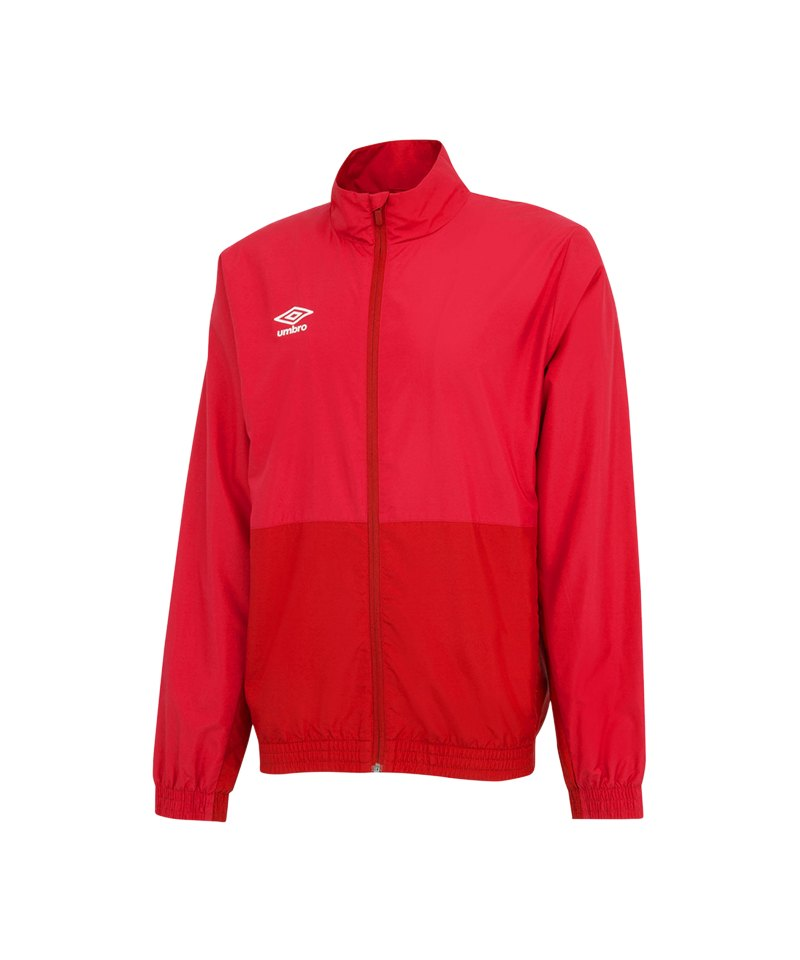 Umbro Training Woven Jacket Jacke Rot FDNC - rot