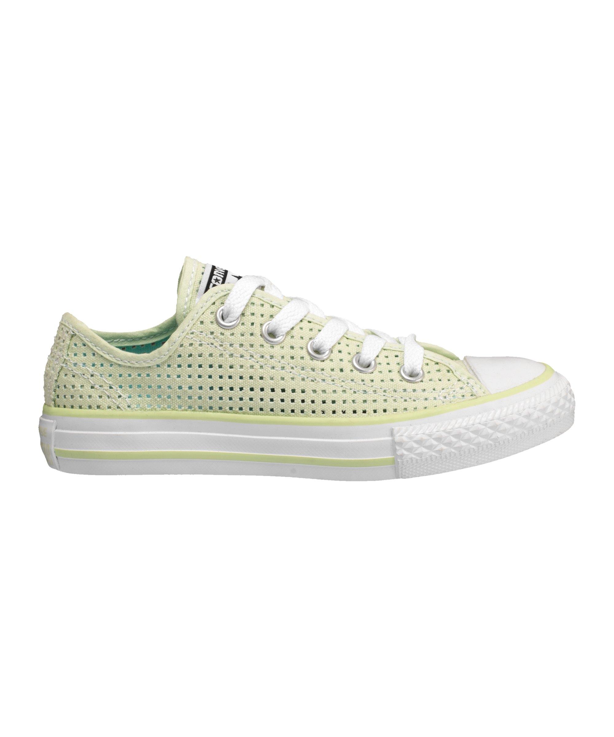 Converse Chuck Taylor AS OX Sneaker Kids Grün - Gruen
