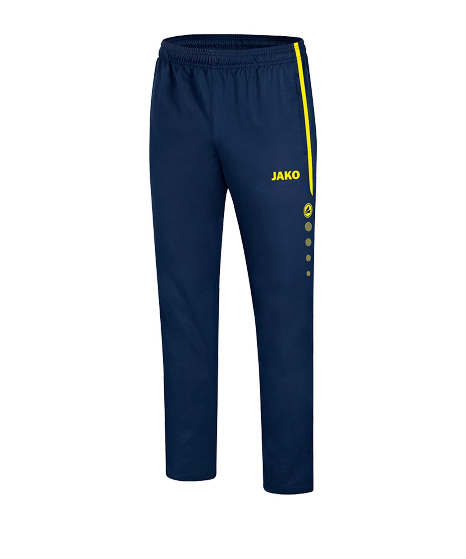 Jako Striker 2.0 Präsentationshose Blau Gelb F89 - Blau